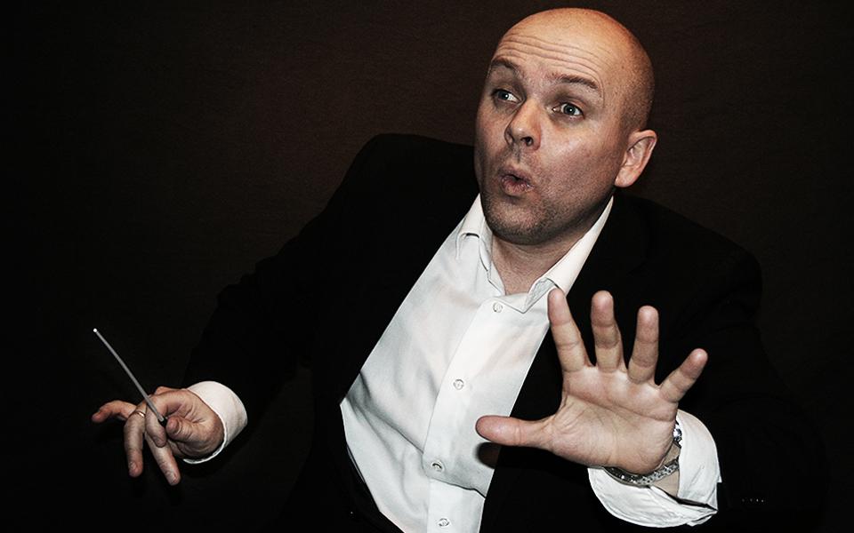 Dirigent Eirik Sørborg